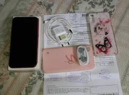 Smartphone sansung A01 novinho na cor Red