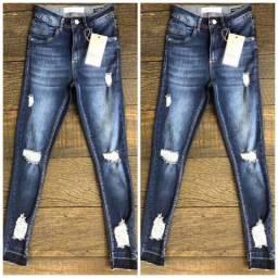Calça Jeans Flare, Cigarrete e Skinning