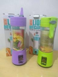 Mini liquidificador portátil e recarregável