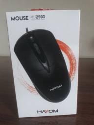 Mouse USB Hayom (Produto Novo)