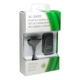 Carregador E Bateria Para Controle Xbox360 68000mah