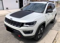 Jeep Compass 2017 (trailhawk diesel) branco pérola