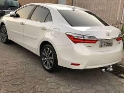 Vendo Corolla Altis 2.0 Flex 2018 interior caramelo