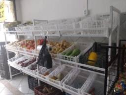 Vendo expositor de frutas e verduras