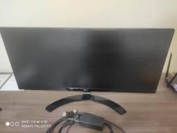 Monitor LG 29 Full hd Ips Led UltraWide 21:9 29UM68-P Com cabo displayport