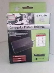 Vendo caregador de notebook universal