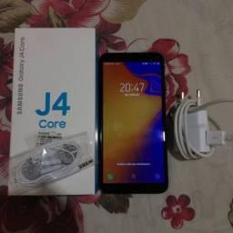 Samsung J4 core 1 mês de uso