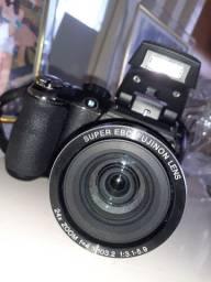 Câmera FujiFilm 24x zoom