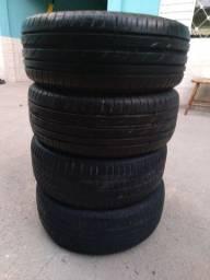 8 pneus 195/55/15 cada um 60,00 4x no cartão