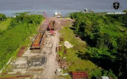Área Portuária na Rodovia Arthur Bernardes em Belém do Pará
