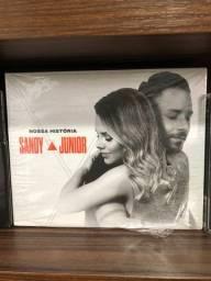 Box Sandy e Junior - CDs lacrados