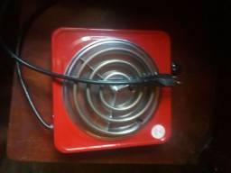 Fogareiro elétrico usado poucas