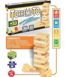 Jogo torre de equilíbrio x 12x R$ 4,49 x Entrega Grátis x Garantia 3 m