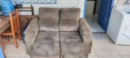 Sofá retrátil e reclinável a venda