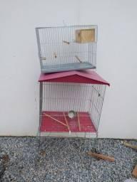 Vendo viveiro para pássaros.