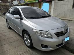 Corolla 2009/2010 1.8 XEI 16V Flex 4P Automático c placa Mercosul *