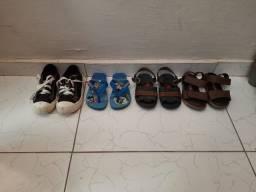 Lote de calçados infantil por apenas 40 reais