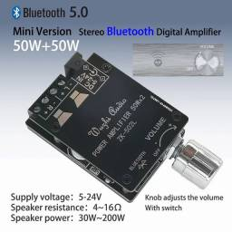 Placa amplificadora ZK502L 50W +50w bluetooth integrado