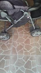 Cadeirinha e carrinho de bebê