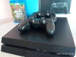 PS4 HD 500 mais GTA 5 e 2 controles