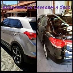 Higienização e lavagem automotiva