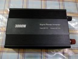 Inversor Transformador 3000w 12v Conversor Veicular 110v comprar usado  Guarulhos