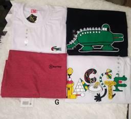 Camisas Masculinas P, M e G