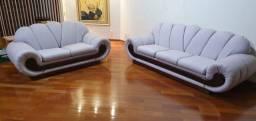 Jogo sofás 2 e 3 lugares