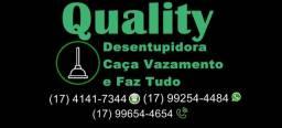Desentupidora e caça vazamento em Rio Preto e Região