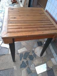 Mesas madeira e vidro (A PARTIR)