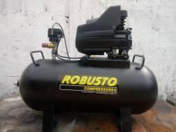 Compressor de ar 100 litros 120 libras