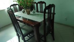 Conjunto Sala de Jantar semi-novo
