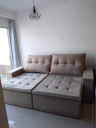 Sofá retrátil 2,30 x 1,80 pillow