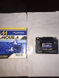 Bateria Moura Ma3-D Biz C100/ADDRESS AG 100 Novo
