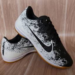 Tênis Nike Futsal Black White