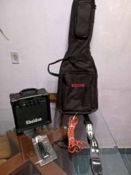 Guitarra stratocaster G-101 giannini