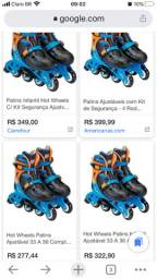 Patins Hotwheels