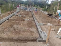 Terreno com 1mil blocos cerâmica e com base pronta