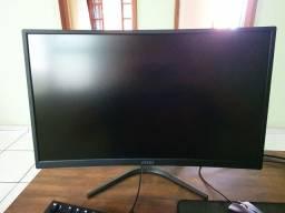Monitor 144 Hertz MSI Painel curvo