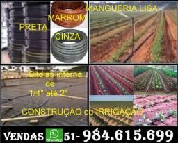 Mangueira Preta Direto de Fábrica: 1/2 x 1,5mm, 2,0 - 2,5 mm e Outras Bitolas