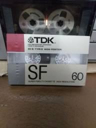 Raríssima fita k7 TDK SF60/serve sansui marantz gradiente polivox
