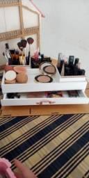 Caixa de mdf para maquiagem