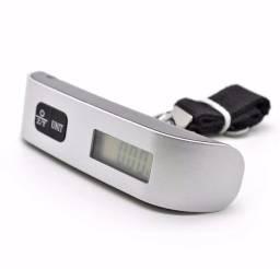 Balança Digital Mão Bagagem Mala Viagem 50kg x 12x R$ 7,49 x Entrega Grátis x