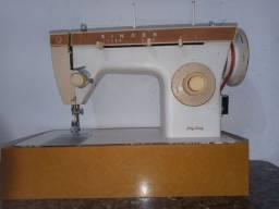 Máquina de costura singer domestica reta e zig zag com garantia