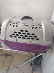 Caixa transporte de cachorro
