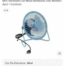 Vende se ventilador portátil usb. Para  Computador etc.