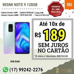Redmi Note 9 (128gb) pronta entrega