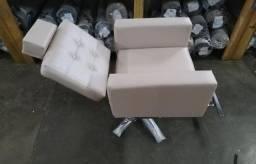Cadeira salão - lavatório cabelo - Mocho - maca - esmalteria - manicure e outros