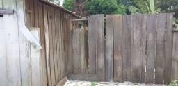 Casas para retirada das madeiras
