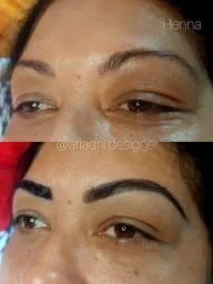 Design de sobrancelhas e Lash Lifting
